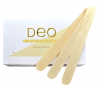 Deo Wooden Spatulas regular (100 pieces)
